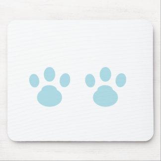 Animal tracks mouse pad