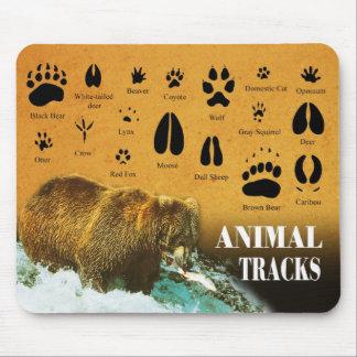 Animal Tracks Mousepads