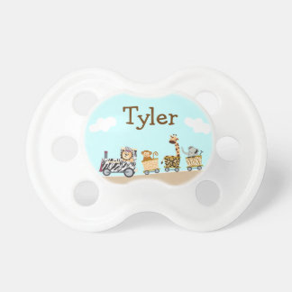Animal Train Baby Pacifier