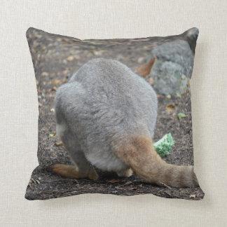 animal trasero de la opinión del wallaby