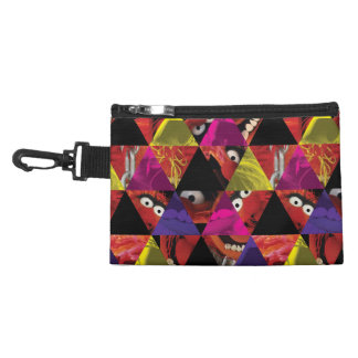 Animal Triangle Pattern Accessory Bag