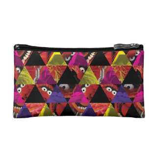 Animal Triangle Pattern Cosmetic Bag
