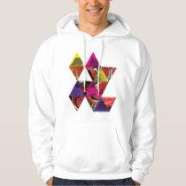 Animal Triangle Pattern Hoodie