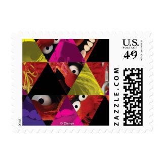 Animal Triangle Pattern Postage Stamp