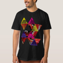 Animal Triangle Pattern T-Shirt