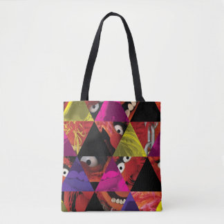Animal Triangle Pattern Tote Bag
