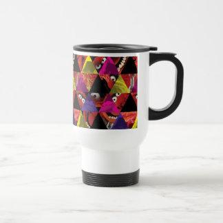 Animal Triangle Pattern Travel Mug
