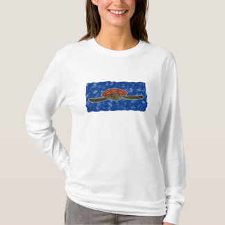 Animal - Turtle (with backdrop) T-Shirt