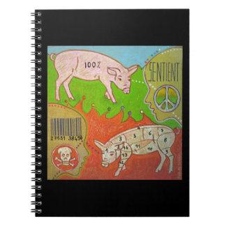 Animal Vegan free Notebook