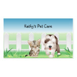 Animal Veterinarian Business Card