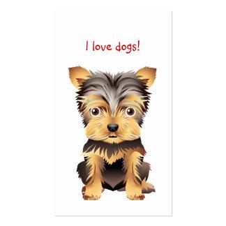 Animal Veterinarian Dog Business Card