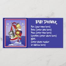 Animal Voyage Americana Baby Shower
