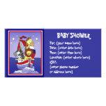 Animal Voyage Americana Baby Shower Custom Photo Card