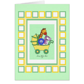 Animal Walk 11, Happy Mother's Day Card