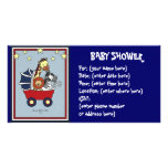 Animal Walk Baby Shower Picture Card