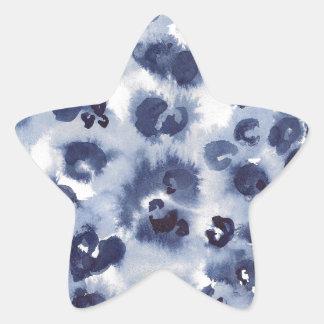 Animal Watercolour #1 Star Sticker