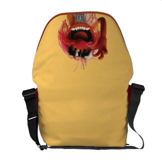 Animal wearing sunglasses courier bags