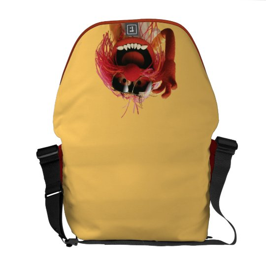 Animal wearing sunglasses messenger bag
