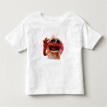 Animal wearing sunglasses toddler t-shirt