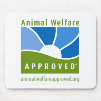 Animal Welfare Approved Mouse Pad