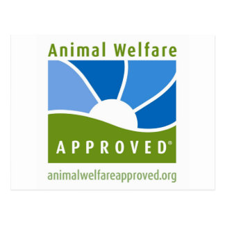 Animal Welfare Approved Postcard