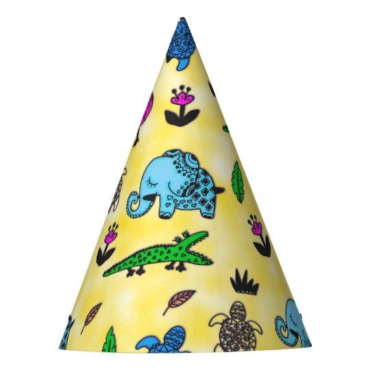 Animal whirlwind party hat zazzle animal whirlwind party hat maxwellsz