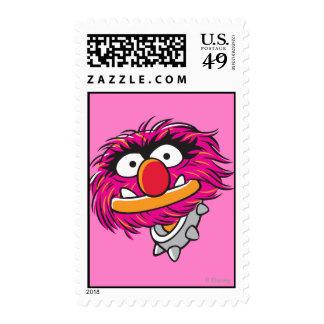Animal With Collar Stamp
