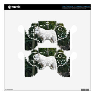 Animal Wolf Nature Peace Love Destiny PS3 Controller Skins