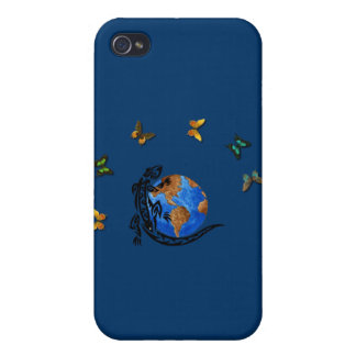 Animal World Cover For iPhone 4