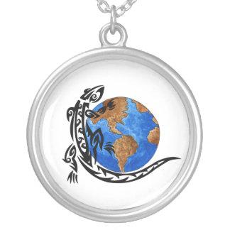 Animal World Round Pendant Necklace