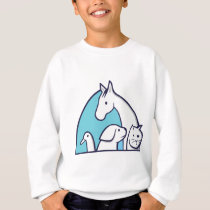 animal world sweatshirt