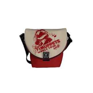 Animal World Tour Messenger Bag