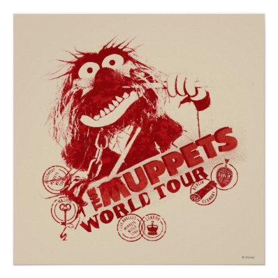 Animal World Tour Print