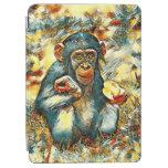 AnimalArt_Chimpanzee_20170603_by_JAMColors iPad Air Cover