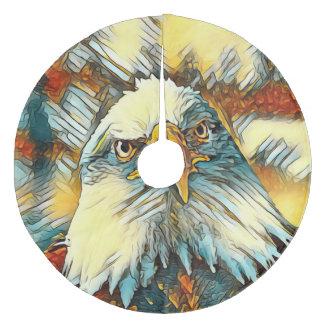 AnimalArt_Eagle_20170603_by_JAMColors Fleece Tree Skirt