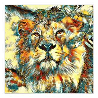 AnimalArt_Lion_20170607_by_JAMColors Magnetic Card