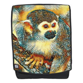 AnimalArt_Monkey_20170601_by_JAMColors Backpack