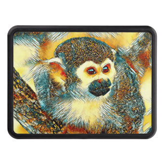 AnimalArt_Monkey_20170601_by_JAMColors Tow Hitch Cover