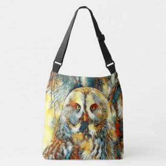 AnimalArt_Owl_20170602_by_JAMColors Crossbody Bag
