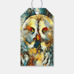 AnimalArt_Owl_20170602_by_JAMColors Gift Tags
