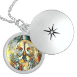 AnimalArt_Owl_20170602_by_JAMColors Locket Necklace