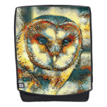 AnimalArt_Owl_20170915_by_JAMColors Backpack