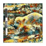 AnimalArt_Polarbear_20170602_by_JAMColors Dry Erase Board