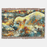AnimalArt_Polarbear_20170602_by_JAMColors Throw