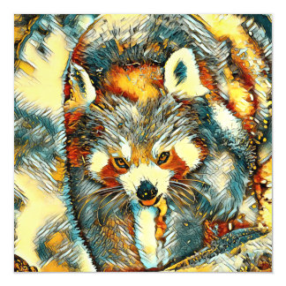AnimalArt_RedPanda_20170701_by_JAMColors Magnetic Card
