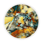 AnimalArt_Tiger_20170603_by_JAMColors Edible Frosting Rounds