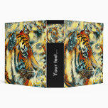 AnimalArt_Tiger_20170604_by_JAMColors 3 Ring Binder