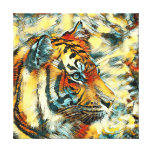 AnimalArt_Tiger_20170604_by_JAMColors Canvas Print