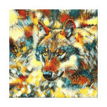 AnimalArt_Wolf_20170605_by_JAMColors Canvas Print