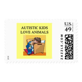 animales autísticos del amor de los niños envio